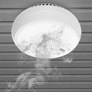 Cảm biến báo khói NVU Zigbee