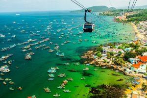 Cáp treo hòn thơm địa trung hải phú quốc sang biển đẹp nhất